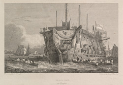 Prison Ship at Deptford